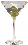 Martini Glass Cardboard Standee