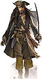 Jack Sparrow with Sword Cardboard Standee