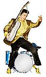 Elvis Drums - Elvis Cardboard Cutout Standup Prop