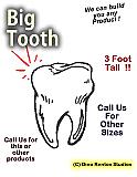 Big Tooth Foam Prop
