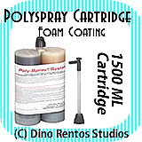 1500ml Polyspray Polyurea Cartridge - Foam Coating