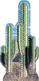 Cactus Group Cardboard Standee