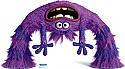Art - Monsters University Cardboard Cutout Standup Prop