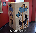 3D Puzzle Rectangle - Custom Printed