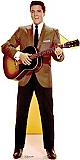 Elvis Brown Jacket (Talking) - Elvis Cardboard Cutout Standup Prop