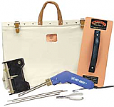 Heat Dial Hot Knife Kit with Canvas Bag