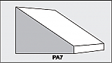PA7 - Architectural Foam Shape - Parapets & Caps