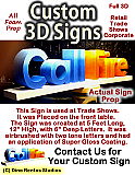 Custom 3D Display Signs