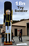 18ft Toy Soldier Nutcracker Decoration Prop