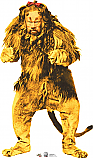 Cowardly Lion - 75th Anniversary - The Wizard of Oz Cardboard Cutout Standup Prop