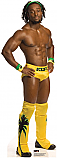 Kofi Kingston 2 - WWE Cardboard Cutout Standup Prop