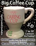 Custom Made Big Coffee Cup