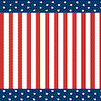 "Cardboard Roll - Stars and Stripes - 48"" x 25'"