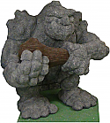 Grimm Granite Golem Halloween Foam Prop-Animatronic