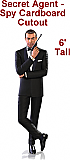 Spy - Secret Agent Cardboard Cutout Standup Prop